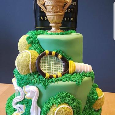 Tennis Wimbledon Cake