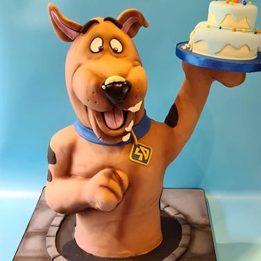 Scooby-Doo 3D Cake