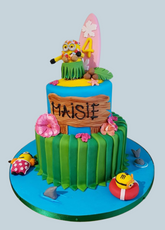Minions Hoola Cake