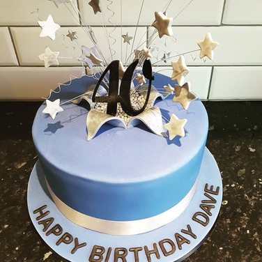 Stars Simple Cake