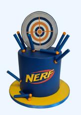 "Nerf Cake  6"" Vanilla sponge £99"