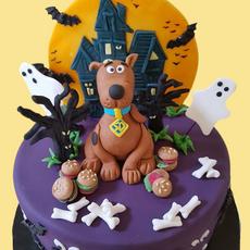 Scooby Doo Celebration Cake