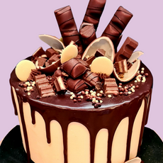 Kinder Drip Cake