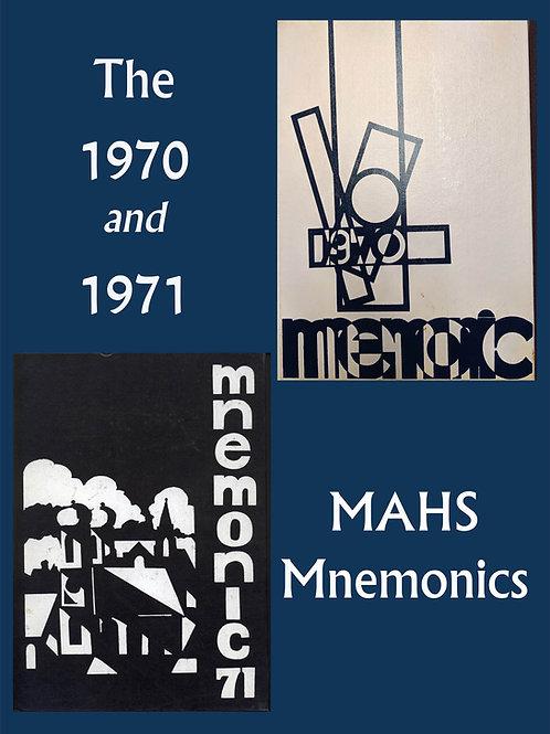 1970 & 1971 Mnemonic