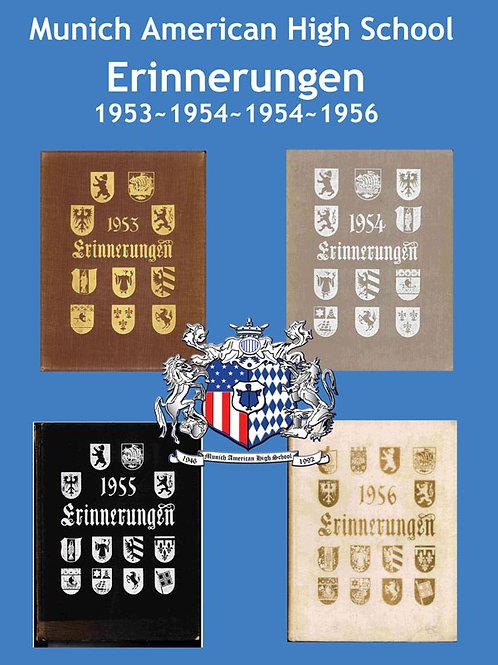 1953, 54, 55, 56 Erinnerugnen