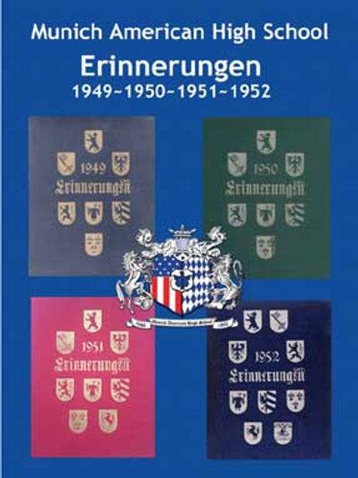 1949-50-51-52 Erinnerugnen