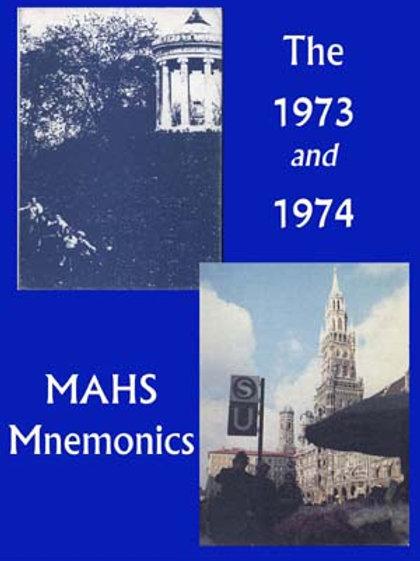 1973, 74 Mnemonics