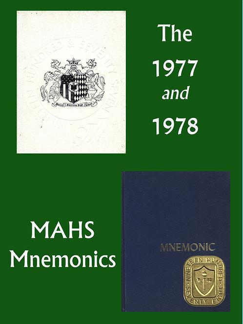 1977, 78 Mnemonics
