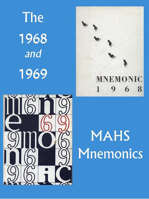 1968, 69 Mnemonics
