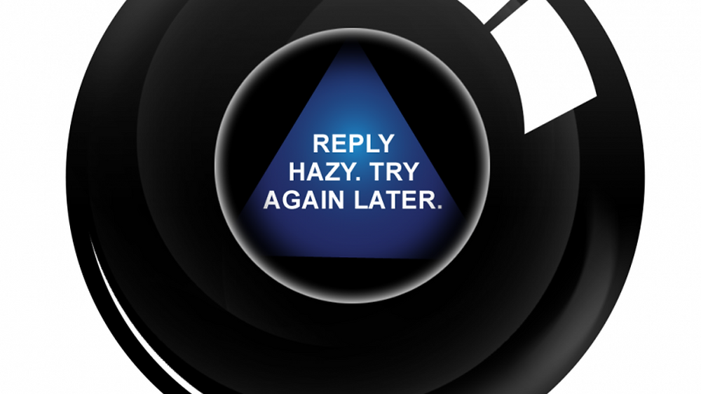 Magic Eight Ball responses