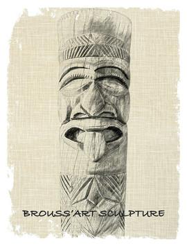Carte de visite Brouss'art sculpture (3)