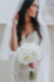 Voluminous Curls Bridal Hair
