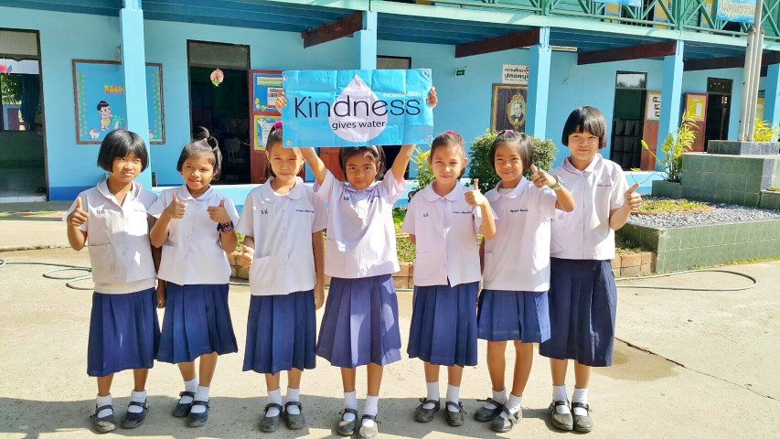 Kindness give water12