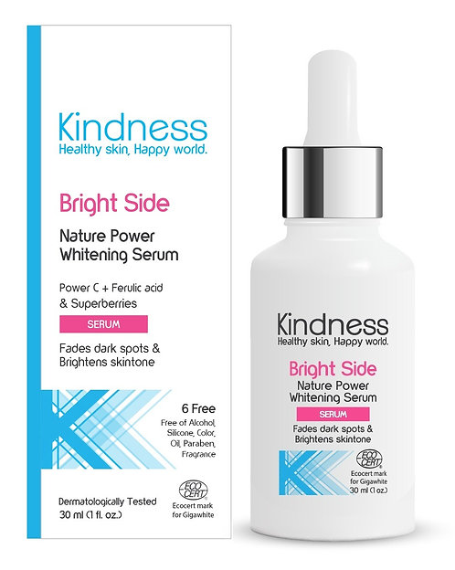 Bright Side Nature Power Whitening Serum 30g