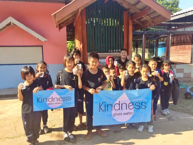 Kindness give water18
