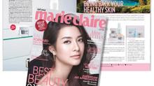 Kindness Happy Glow ลงนิตยสาร Marie Claire ฉบับสิงหาคม 2559