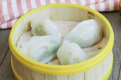 Shrimp & Pea Shoot Dumpling
