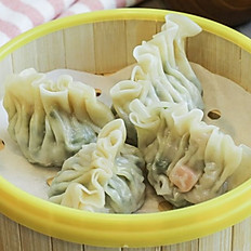 Mixed Veg & Shrimp Dumpling (3 pieces)