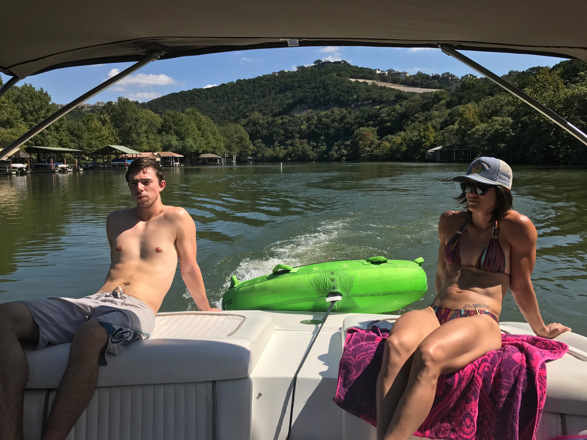 Party Boat Lake Austin