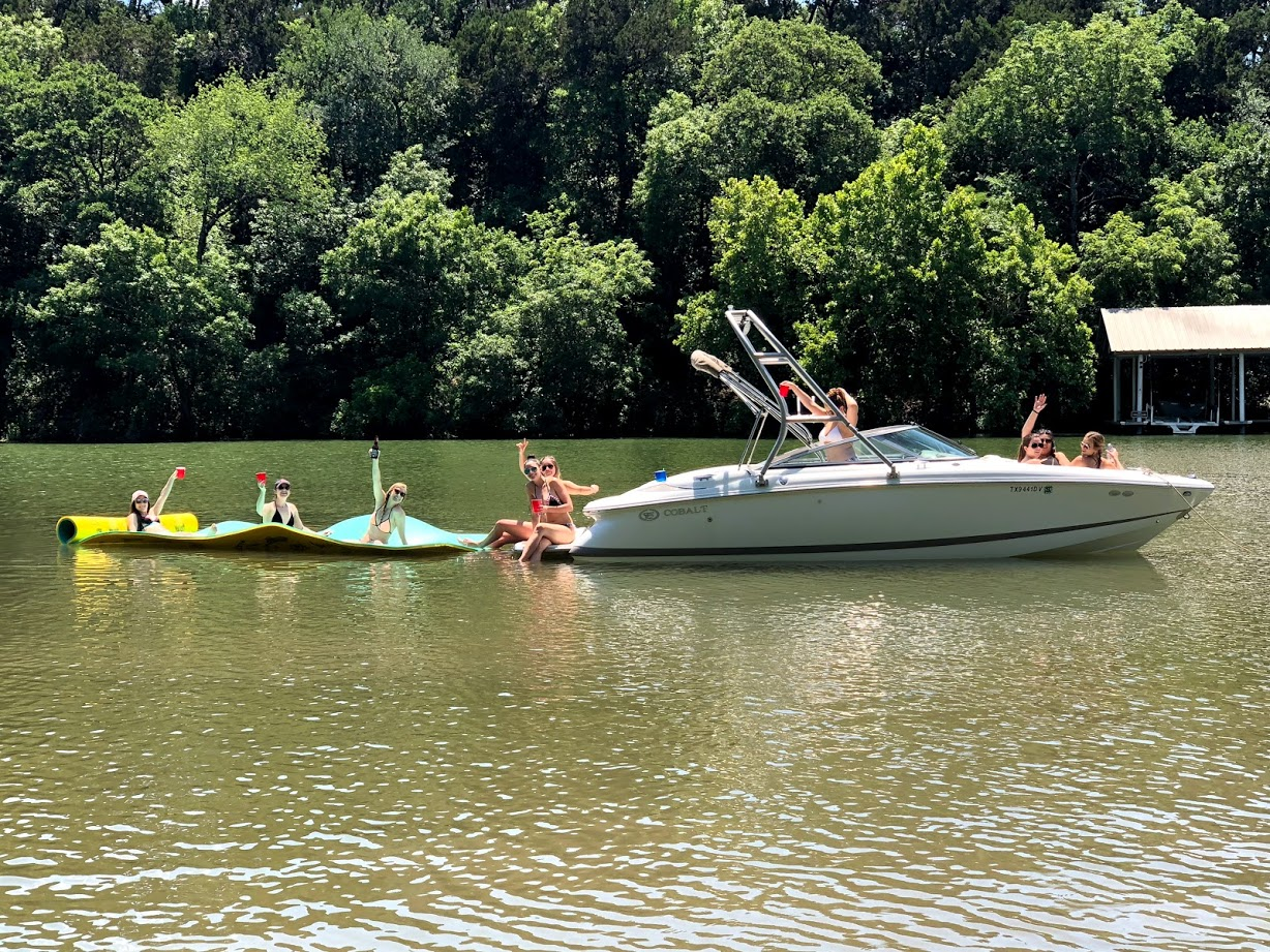 Lake Austin Boat Rental Weekend