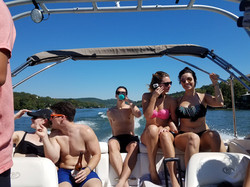 Cobalt Lake Austin Boat