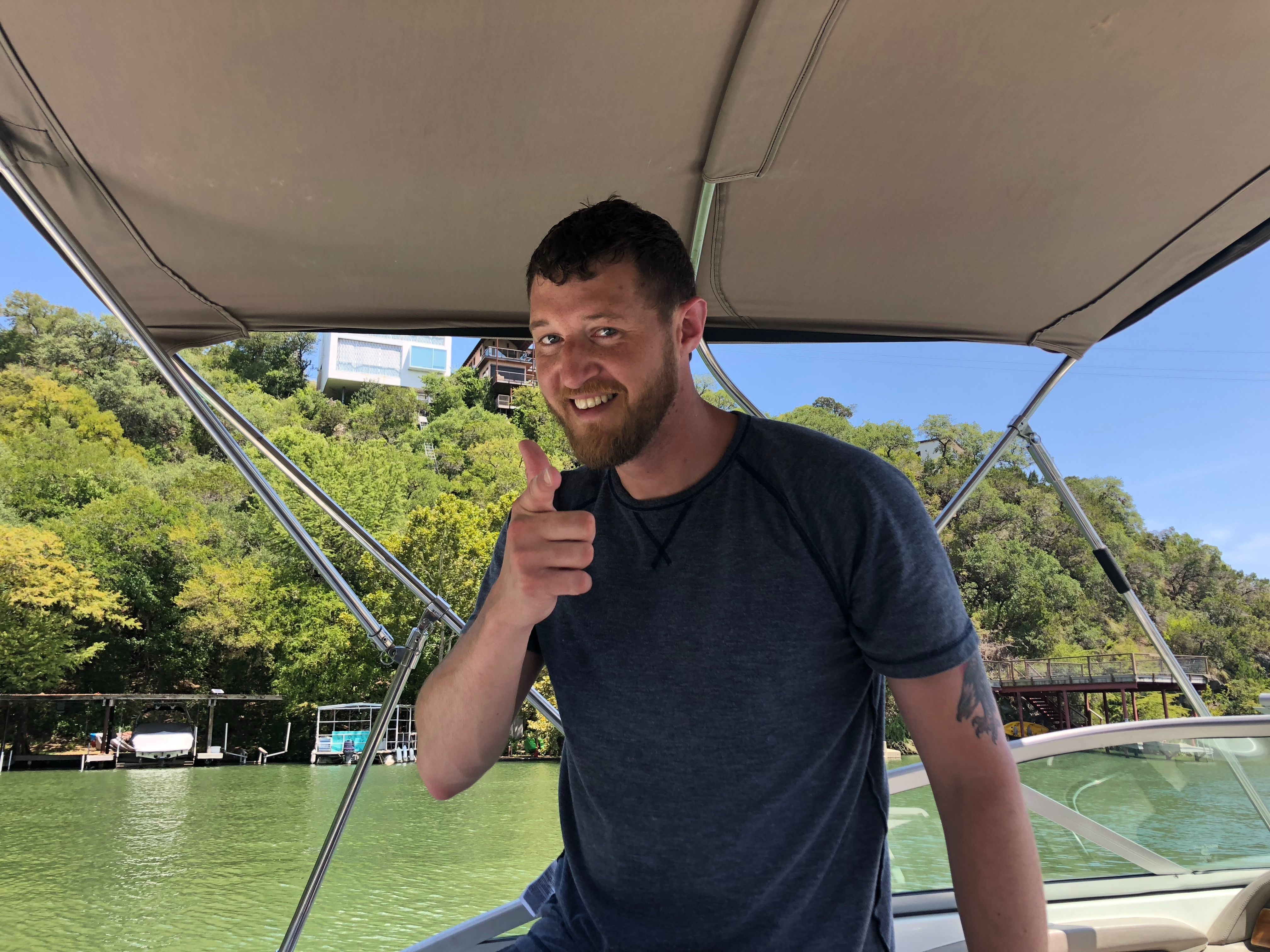 Captain Luke Lake Austin Boat Rental