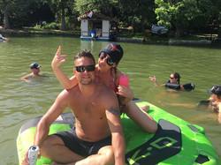 Party Boat Lake Austin