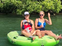 Family boat rental lake Austin