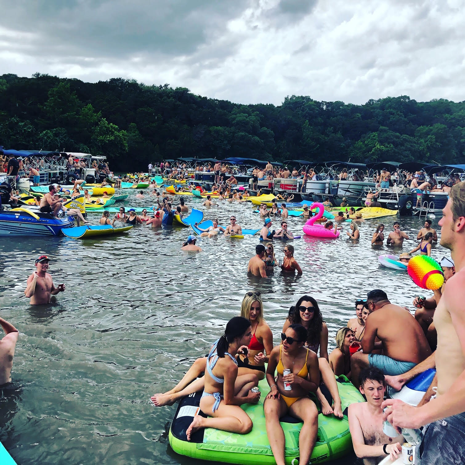 Party Cove Bull Creek Austin