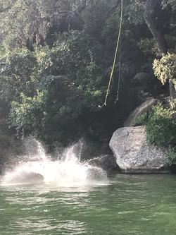 Rope Swing Lake Austin Boat Rental