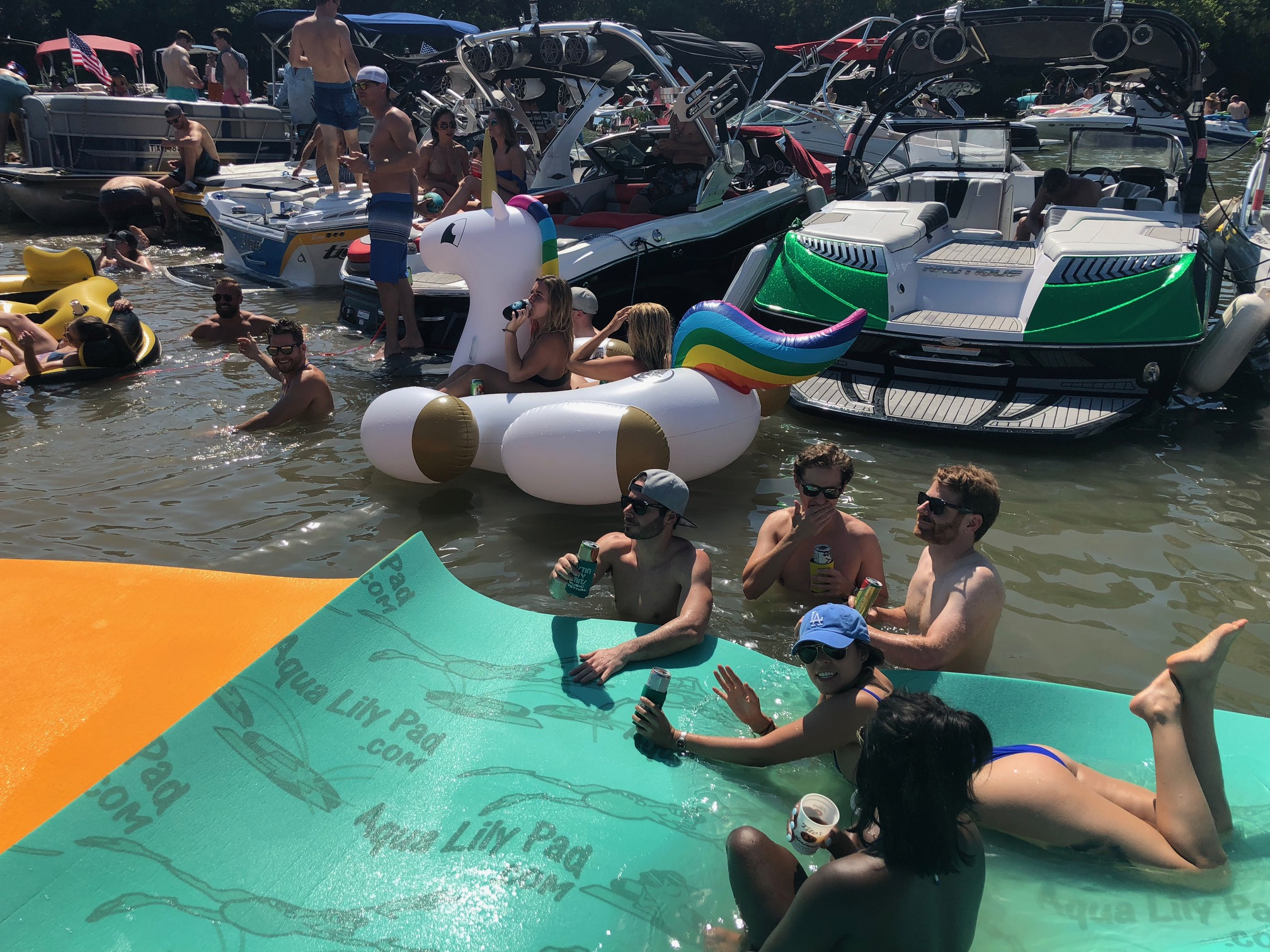 Lake Austin Boat Party