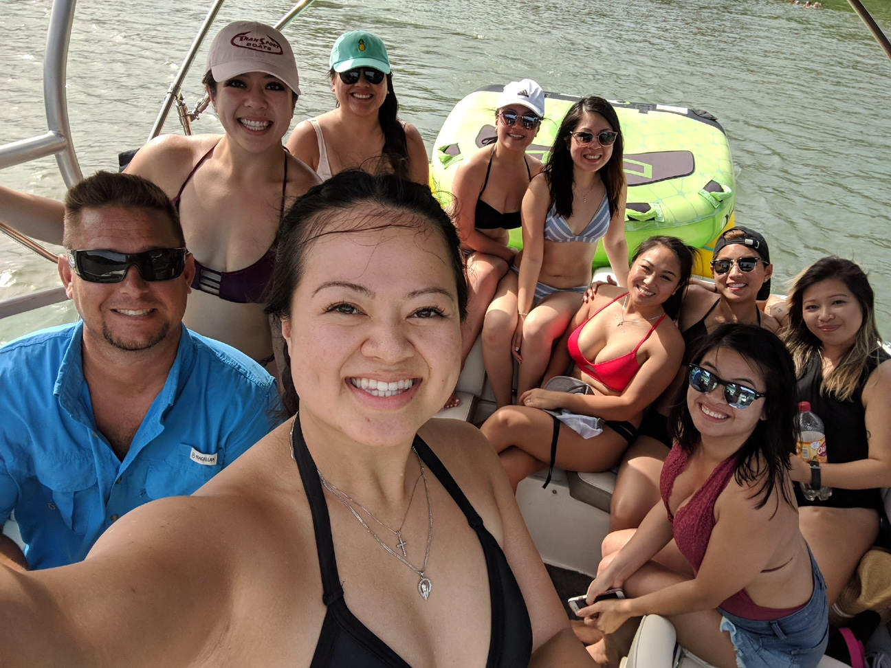 Birthday Party Lake Austin Boat Rental