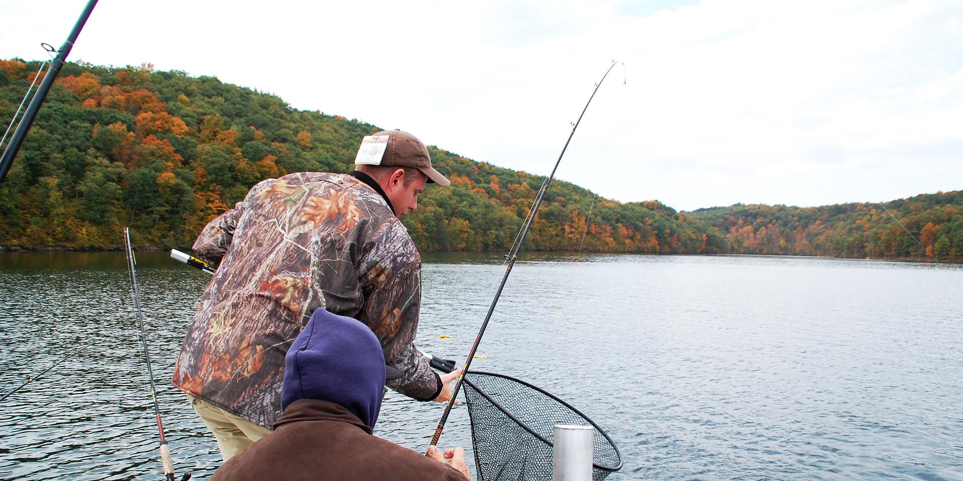 Lake fishing