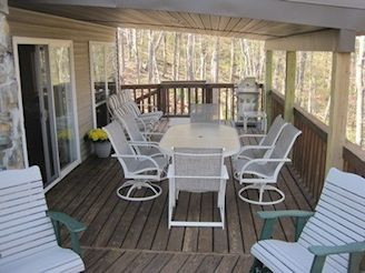 covered patio off great room