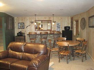 rec. room bar area