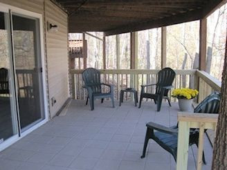 2nd covered patio off rec room