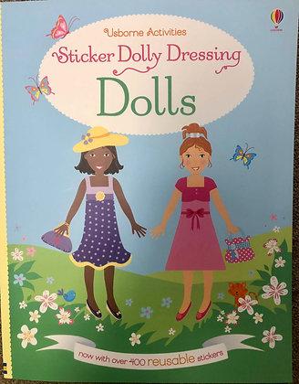 Sticker Dolly Dressing: Dolls
