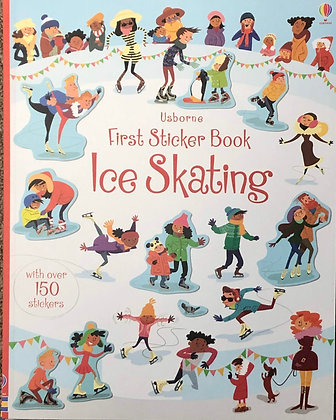 First Sticker Book -Ice Skating