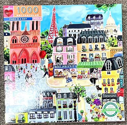 Paris in a Day by Galison - 1000 Pieces