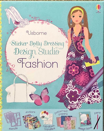 Sticker Dolly Dressing Design Studio Fashion Kit