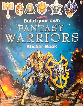 Fantasy Warriors (Build Your Own Sticker Book)