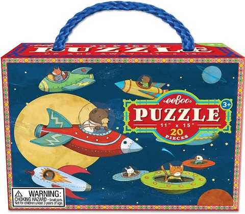 Up and Away - 20 Piece Puzzle by eeBoo