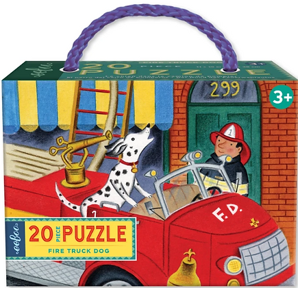 Fire Truck Dog - 20 Piece Puzzle by eeBoo