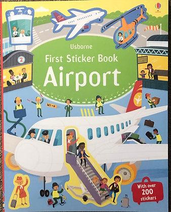 First Sticker Book - Airport
