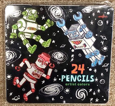 Crayons, Pencils, Pens, & Paint