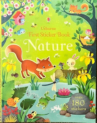 First Sticker Book - Nature