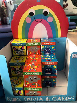 Trivia, Charades & Riddles for Kids by Talking Tables