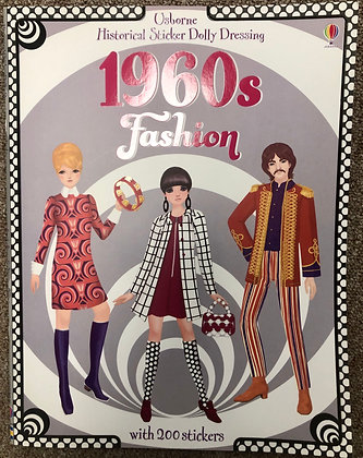 Sticker Dolly Dressing: 1960s Fashion