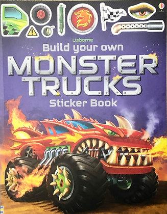 Monster Trucks (Build Your Own Sticker Book)