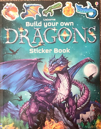 Dragons (Build Your Own Sticker Book)